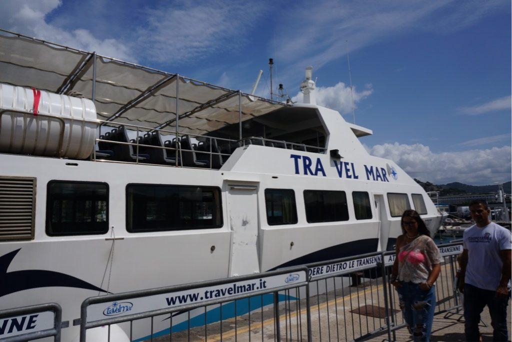 トラベルマーの船