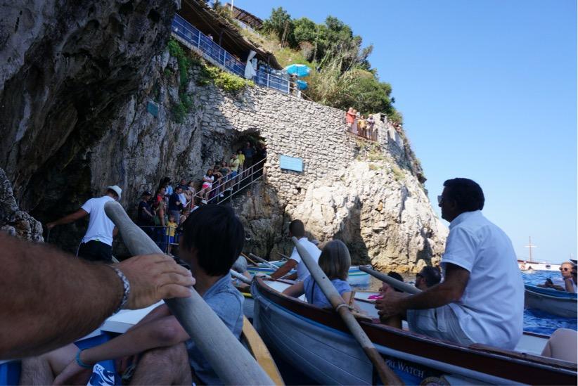 青の洞窟カヌー