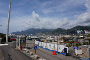 ソレントの港