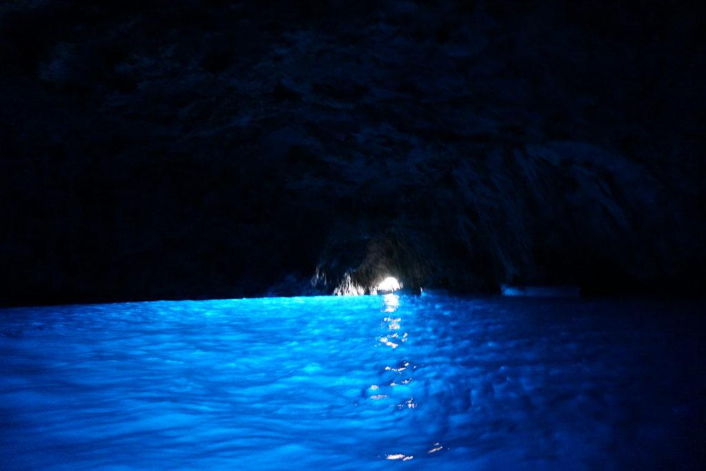青の洞窟、絶景