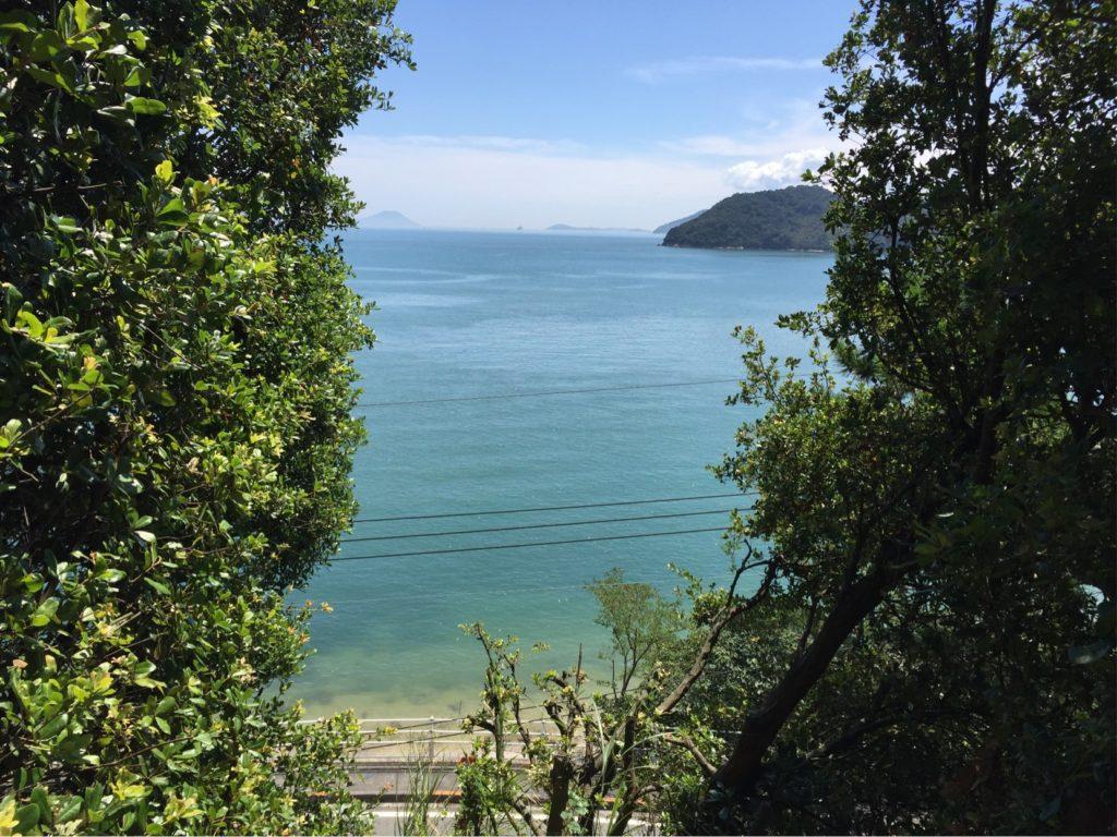 直島の海、原風景