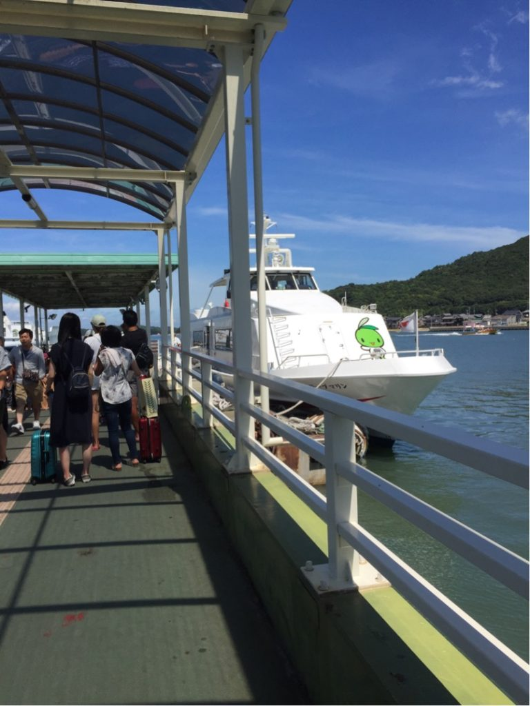 小豆島行き高速船