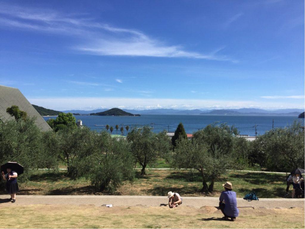 小豆島、海、眺め