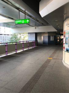 ウッタカート駅2番出口