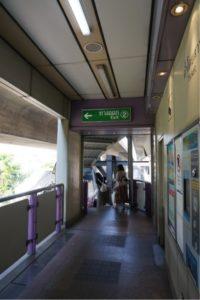 サパーン・タクシン駅出口