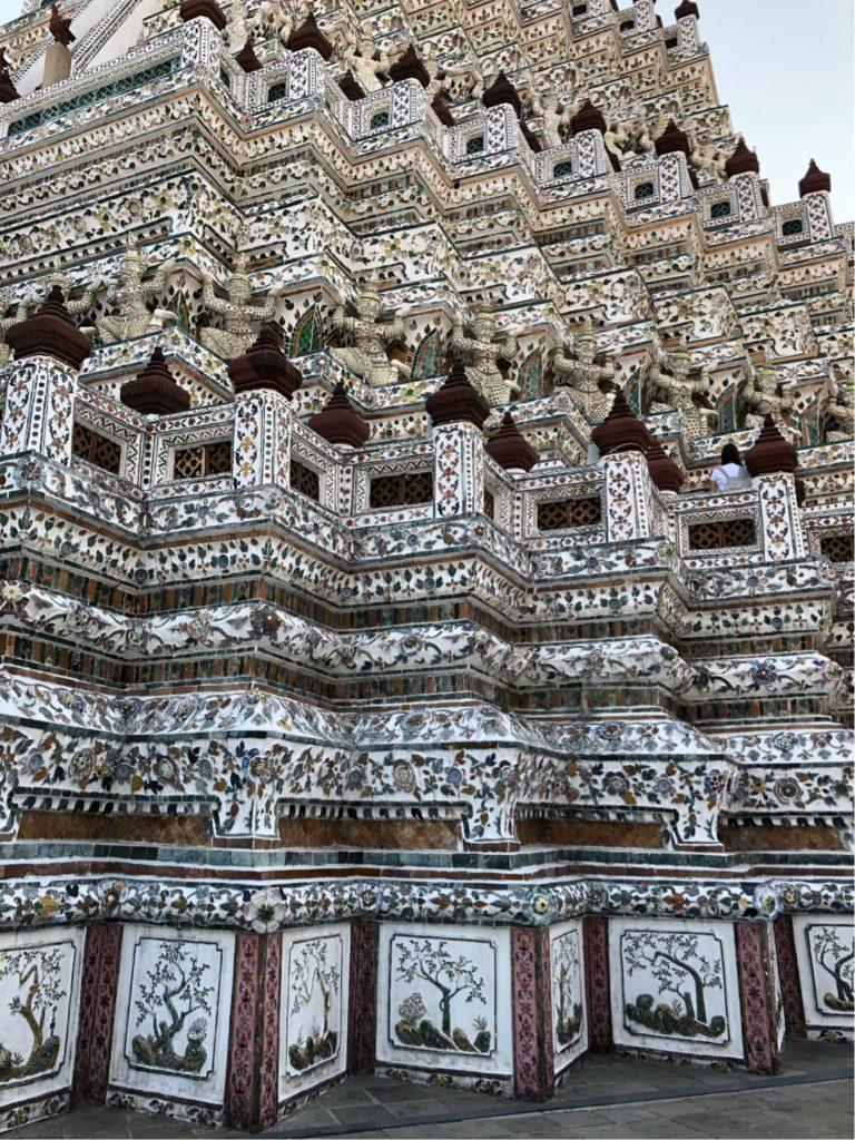 ワット・アルン仏塔壁画