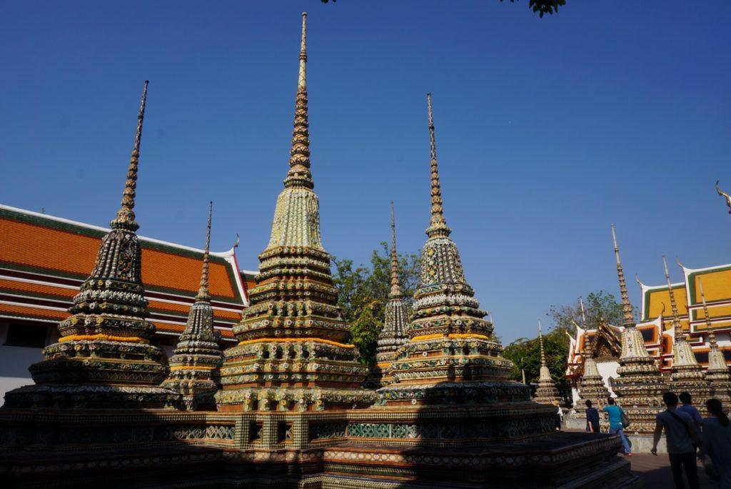 ワット・ポー4基の仏塔