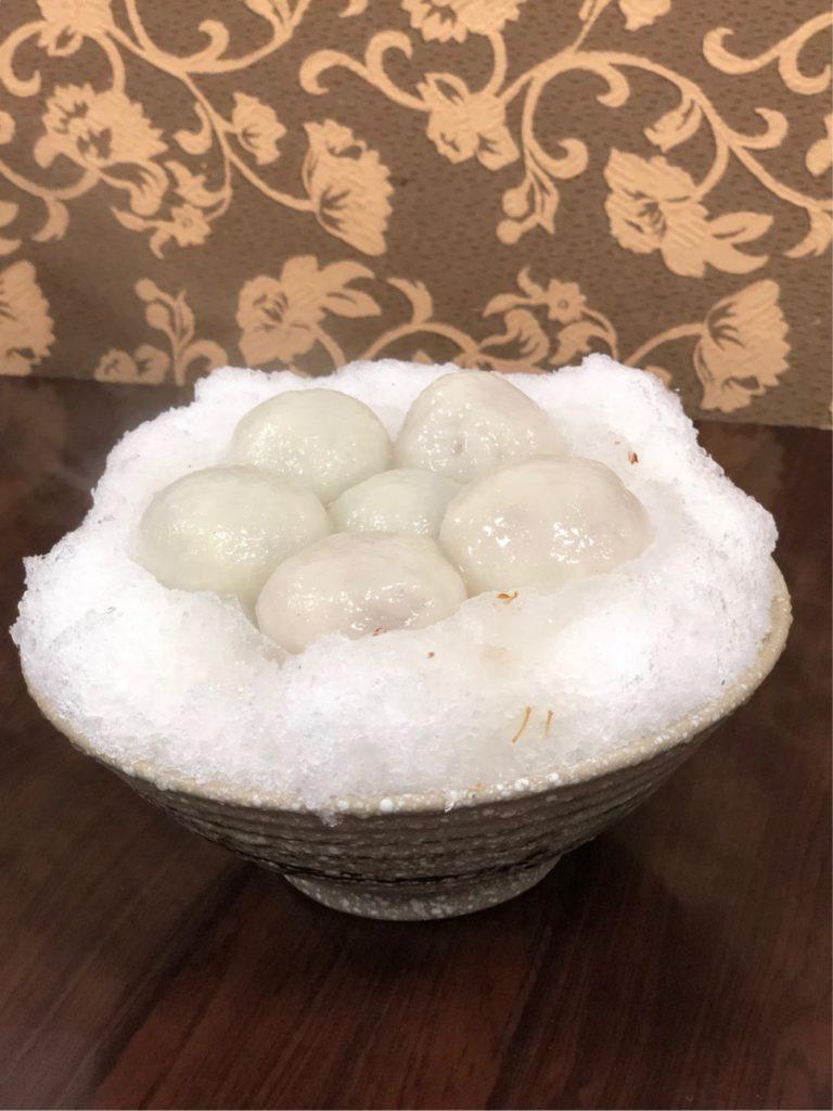 桂花綜合湯圓