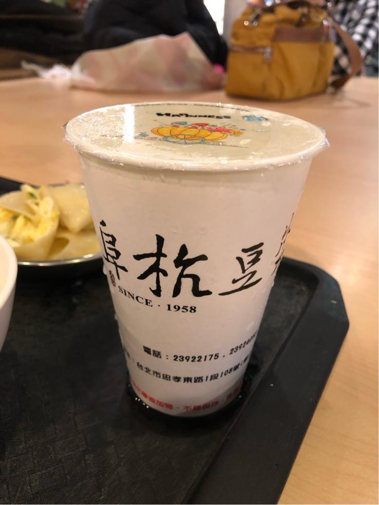 阜杭豆漿の甜豆漿