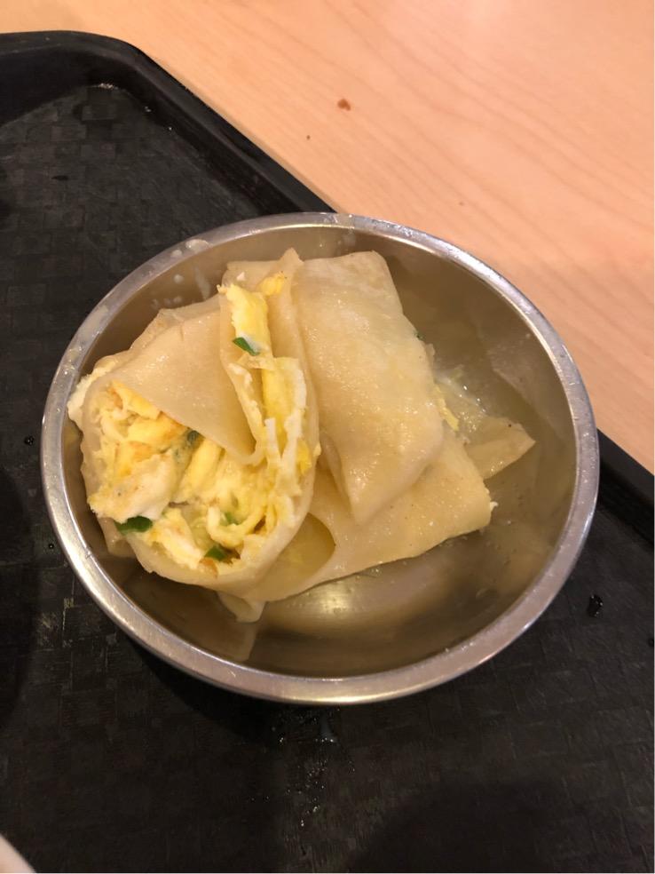 阜杭豆漿の蛋餅