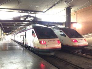 マドリードからトレド行きの列車renfe