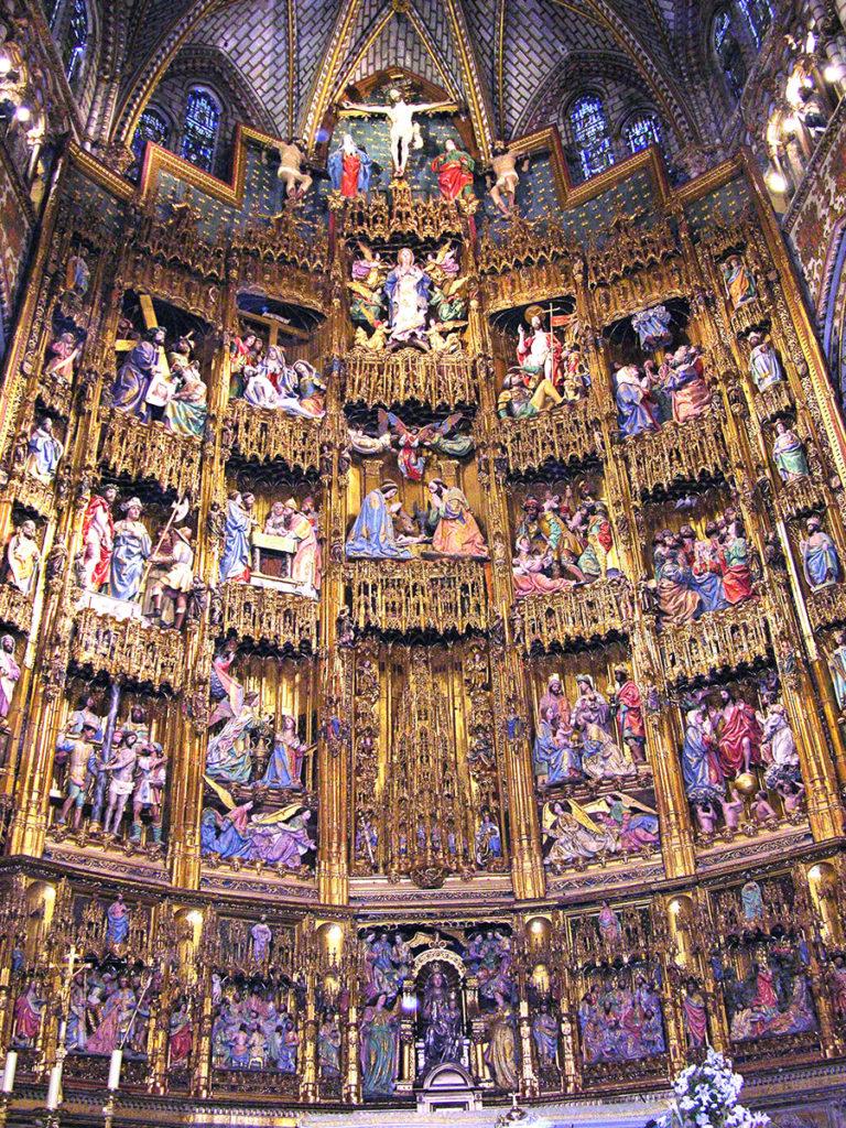 トレド大聖堂主祭壇