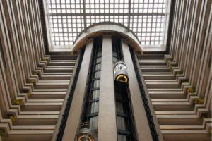シェラトン台北のエレベーター
