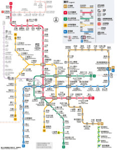 台北路線図