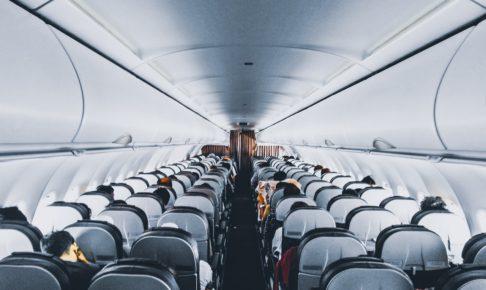 飛行機内の様子
