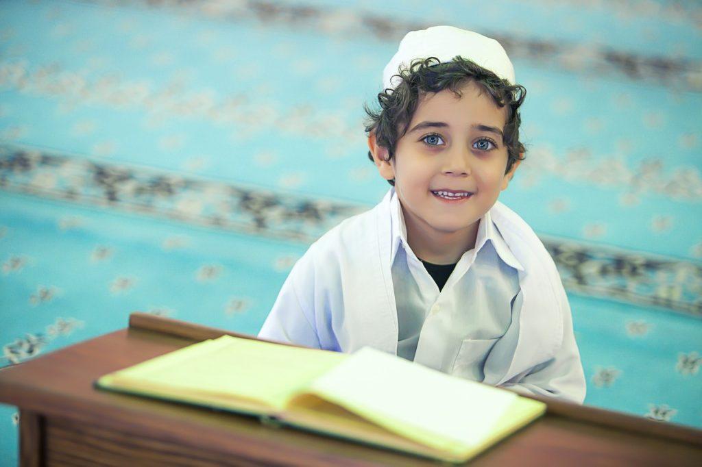 イスラム教の生徒