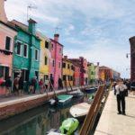 ヴェネチアのカラフルな離島「ブラーノ島」撮影スポット、行き方、レストランまとめ♪