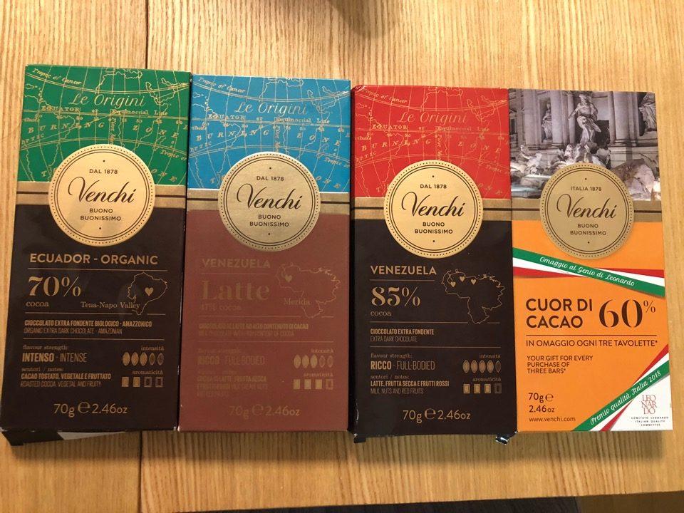 venchiチョコレート