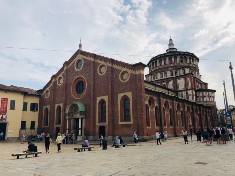 サンタマリアデッレグラツィア教会