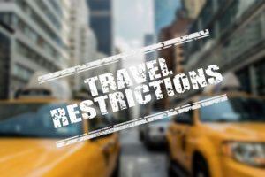 旅行 規制